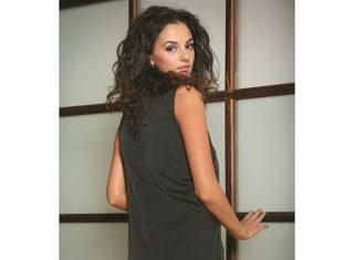 rochie din matase naturala fara maneci negru