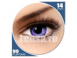 soleko queen solitaire violet lentile de contact colorate violet