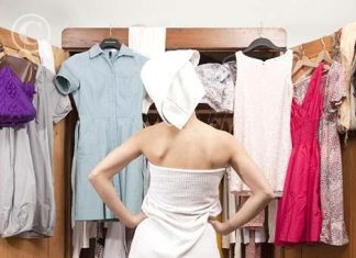 womanBdressing