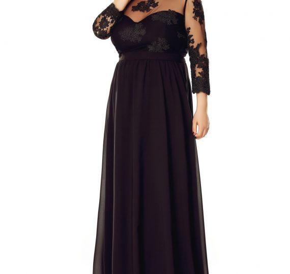 rochie neagra marimi mari